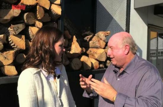 Host Phil Brock interviews Maire Byrne, chef and owner of Thyme Cafe