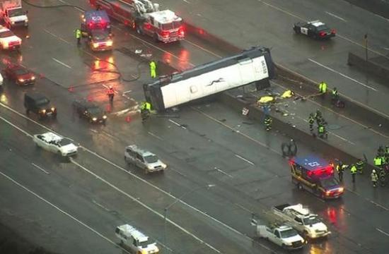 Bus Crash killed 2