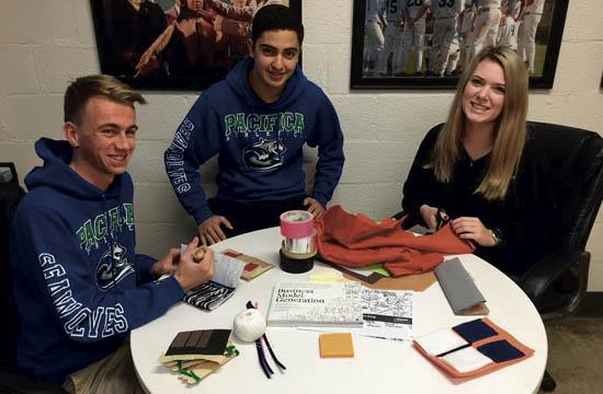 Pacifica Students and the Wallet Project