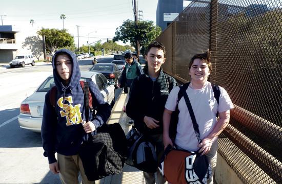 Freshman Boys Baseball Players, left to right: Asher Burkin, Grant Smith.