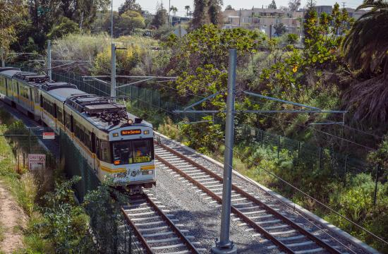 Expo Line Turned Over
