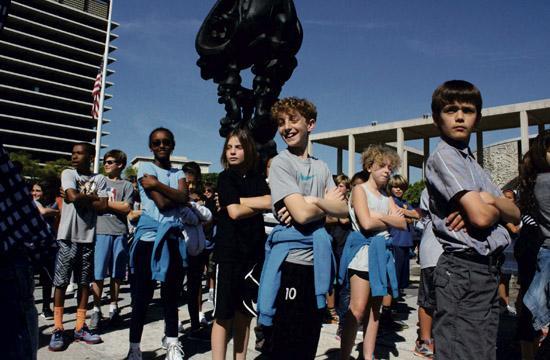Santa Monica Kids Join 18,000 in Dance