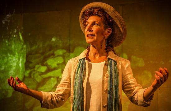 Lisa Robins' lead performance as Mandell.