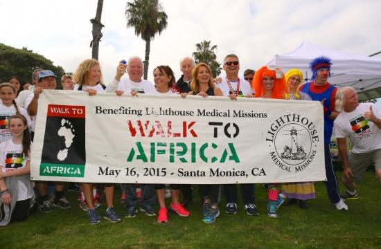 Last year's Walk to Africa Event
