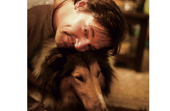 Jon with Mascot Sadie Marie (deceased).