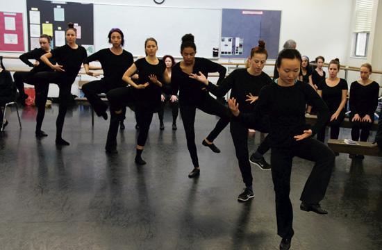 Rehearsal by Mara Zaslove.