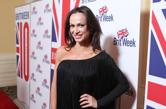 TV personality Karina Smirnoff attends BritWeek's 10th Anniversary VIP Reception and Gala.