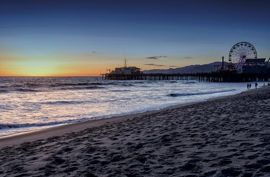 Santa Monica Pier Fifth Most Polluted Beach in State