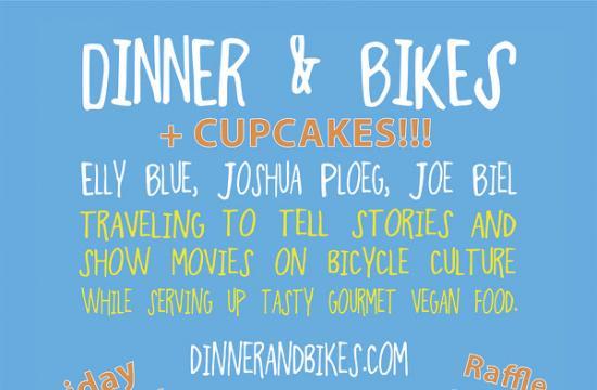Dinner bike and Cupcake