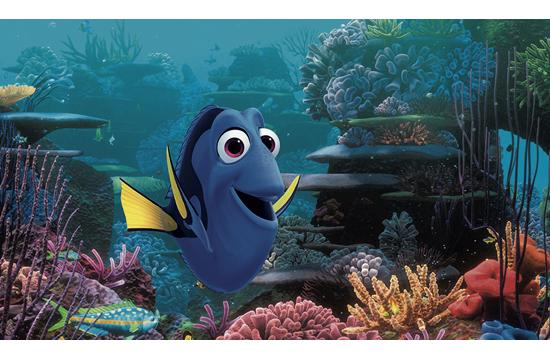 Finding Dory opens in cinemas today.
