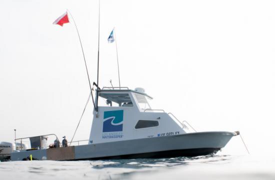 LA Waterkeeper boat