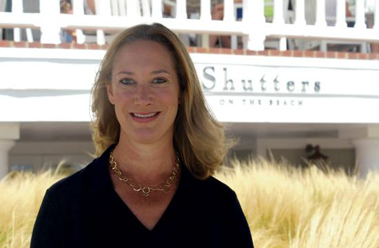 Laura McIver as new general manager at Shutters on the Beach.