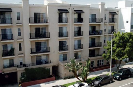 A primary goal of Santa Monicans for Renters' Rights is to support, defend and enhance rent control and tenant protections locally, regionally and statewide. 1430 on 7th Santa Monica Apartments, affordable housing. Courtesy NMS Properties