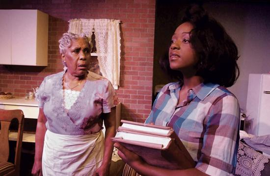 DuPois and Williams in Raisin in the Sun.