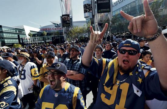 Rams Fans.