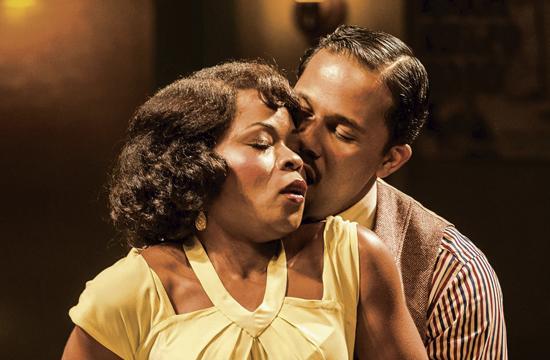 Nija Okoro as Dussie May and Levee (Jason Dirden).
