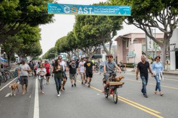 Santa Monica's Open Street Festival (COAST)