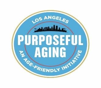 Purposeful aging logo